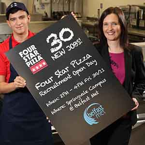 Four Star Pizza Serves Up 30 New Jobs In Recruitment Drive